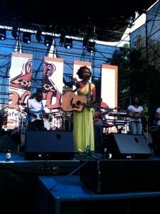 Zahara @ Macufe 2011 Main Music Fest
