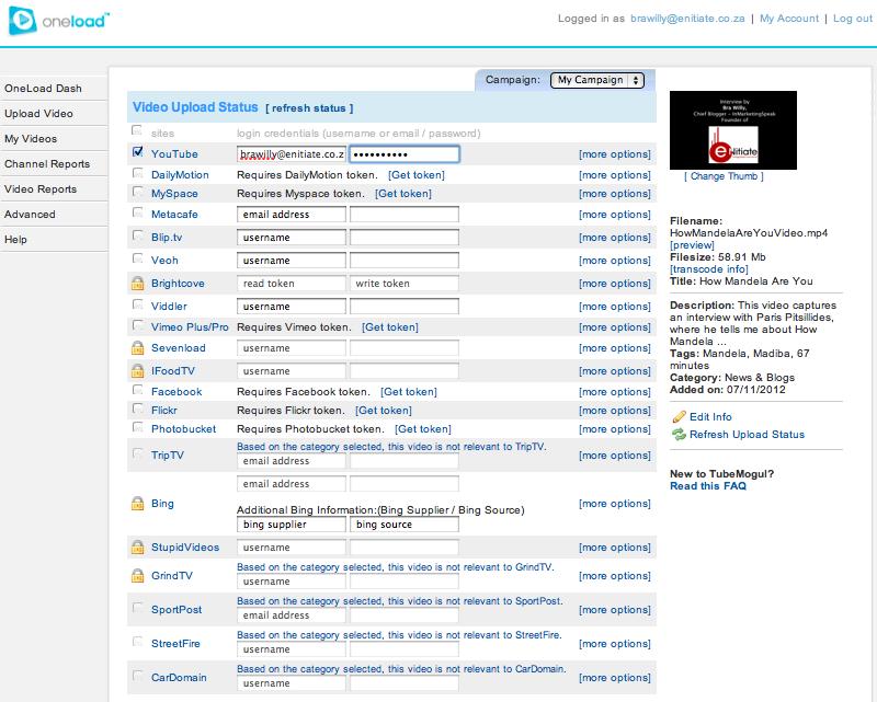 OneLoad Screenshot