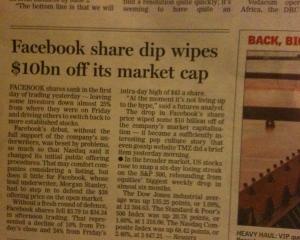 Facebook unfriended