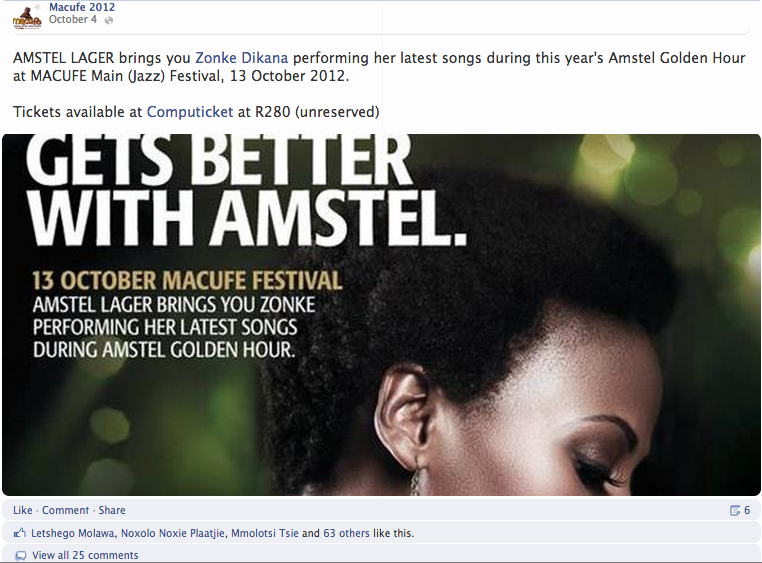 """<img src=""""macufe_2012_zonke_at_Amstel_golden_hour_4.png"""" alt=""""Macufe 2012 - Zonke at Amstel Golden Hour 4"""">"""