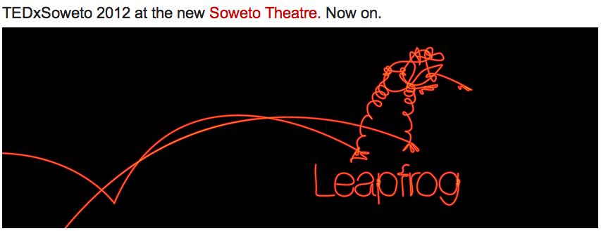 """<img src=http://""""tedxsoweto_2012_leapfrog.png""""?w=812 alt=""""TEDxSoweto 2012 Leapfrog"""">"""