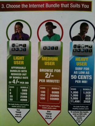 Safaricom Data Brochure - December 2012