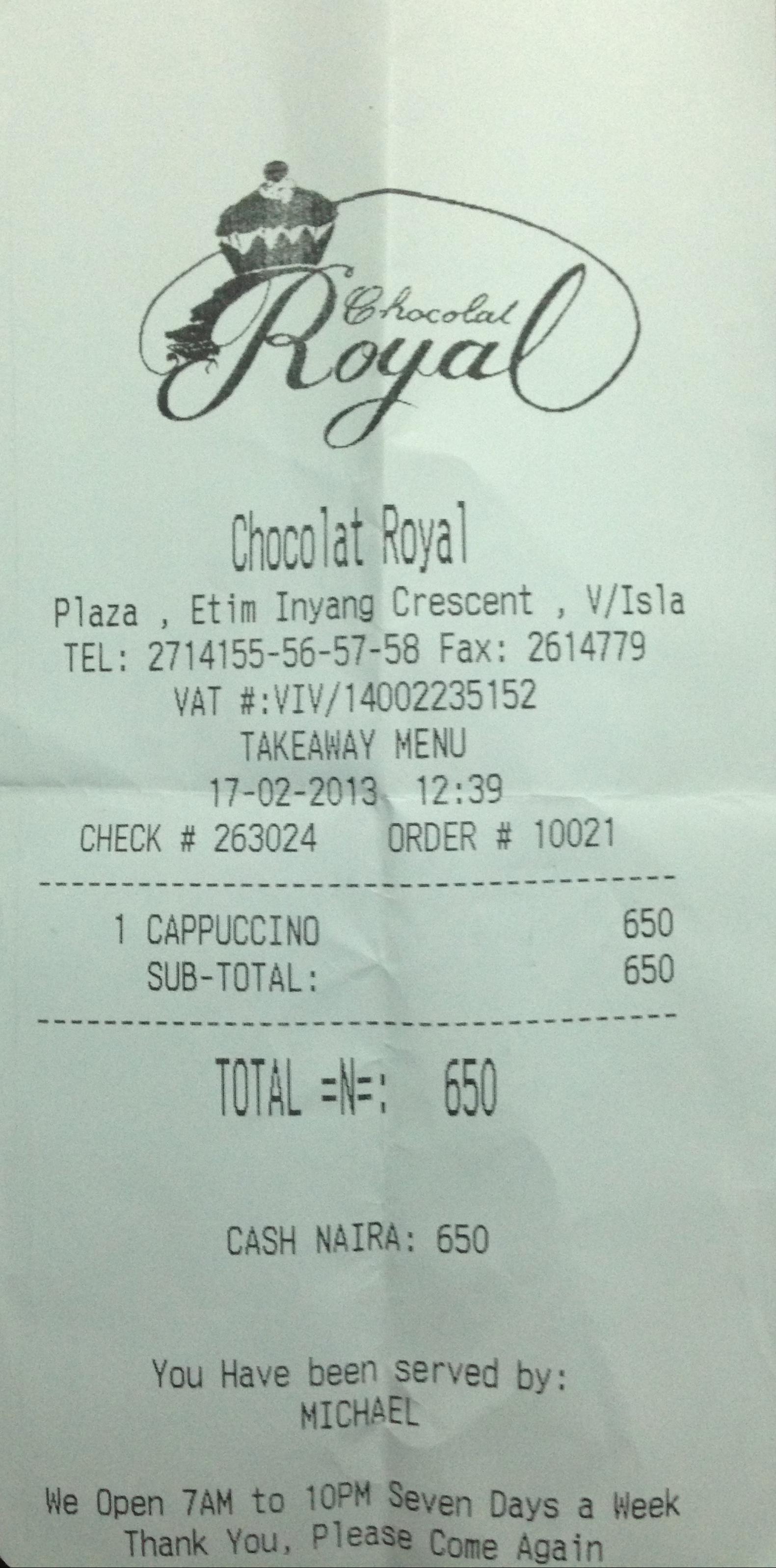 "<img src=http://""Chocolat_Royal_Cappuccino_Receipt.jpg""?w=168&h=338 alt=""Chocolat Royal Cappuccino Receipt"">"
