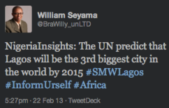 "<img src=""Tweet_about_UN_Prediction_on_Lagos_Size_in_2015.png"" alt=""Tweet about UN Prediction on Lagos Size in 2015"">"