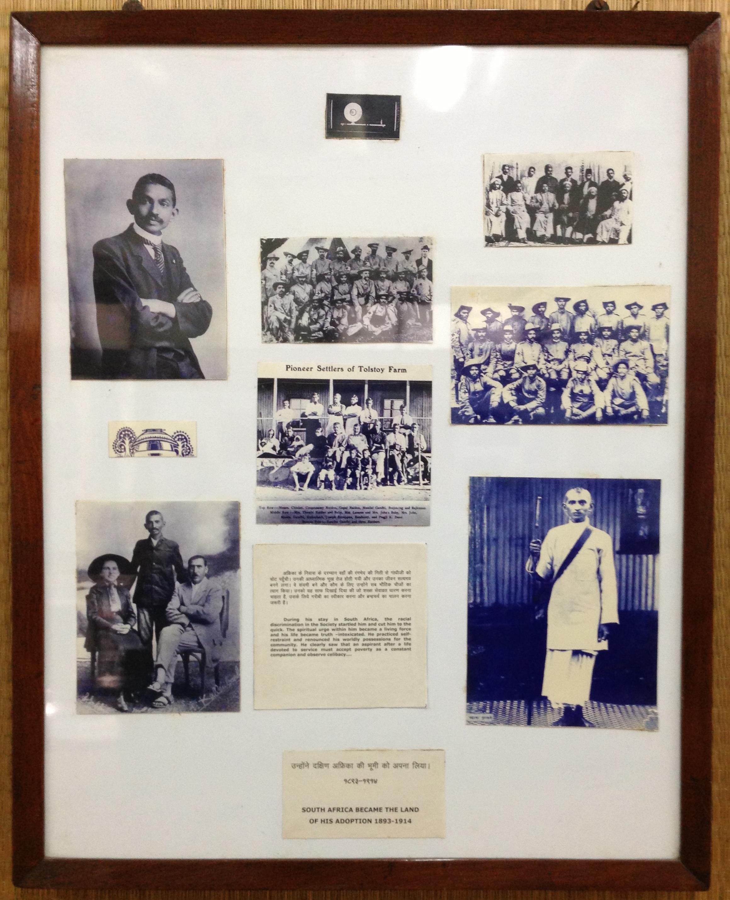 Mahatma Gandhi in South Africa - 1893-1914