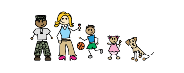 Example of family sticker.(Source: http://www.familystickerssa.co.za)