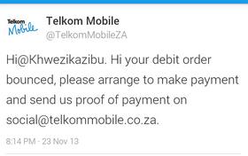 "<img src=http://""TelkomTweet.png""?w=812 alt=""Telkom makes a boo boo in public"">"